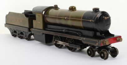 Bowman boxed 0 gauge live steam 234 4-4-0 locomotive and 250 tender