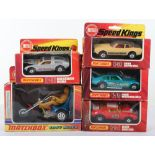 Five Boxed Matchbox Speedkings