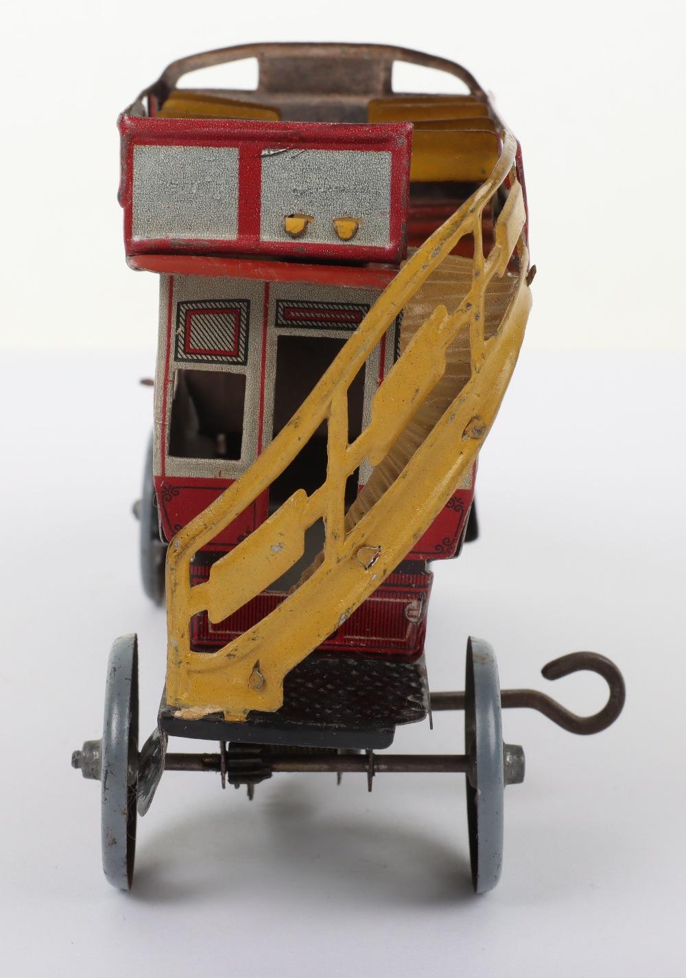 A Scarce Distler (German) Double Decker Tinplate Bus - Image 6 of 6