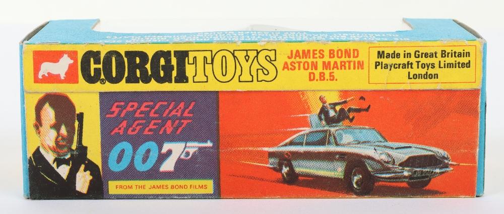 Corgi Toys 270 James Bond Aston Martin slim window box - Image 5 of 8