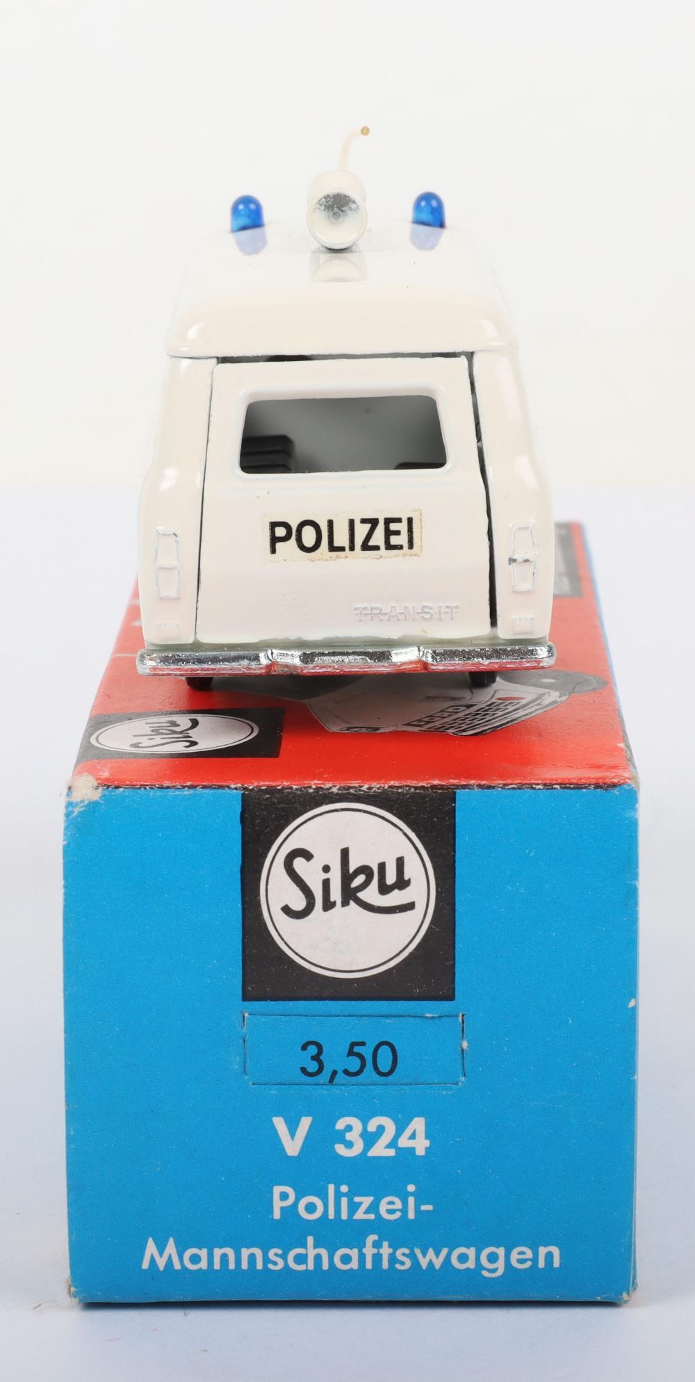 Siku (Germany) V 324 Ford Transit Polizei Van - Image 3 of 5