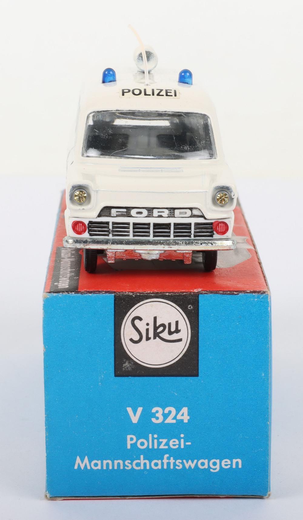Siku (Germany) V 324 Ford Transit Polizei Van - Image 4 of 5