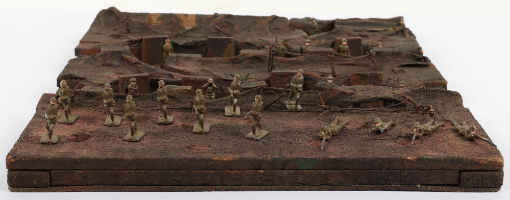 Skybirds plaster/ wooden Trench diorama