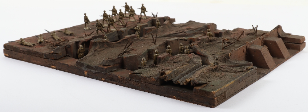 Skybirds plaster/ wooden Trench diorama - Image 4 of 4