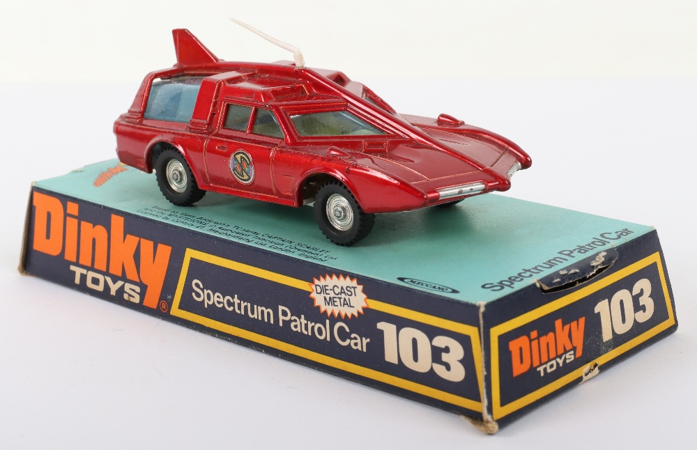 Dinky Toys 103 Spectrum Patrol Car from 'Captain Scarlet - Image 3 of 4