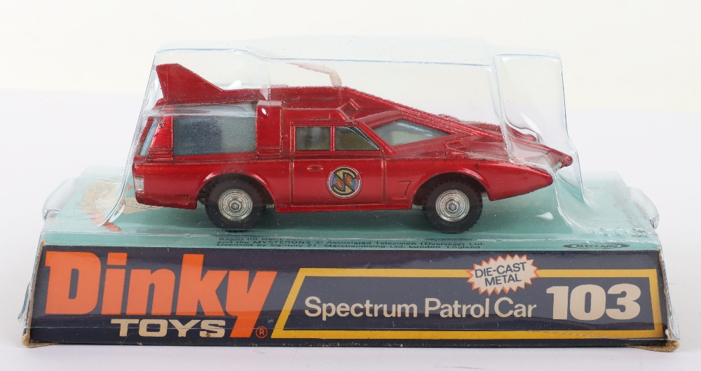 Dinky Toys 103 Spectrum Patrol Car from 'Captain Scarlet - Image 2 of 4