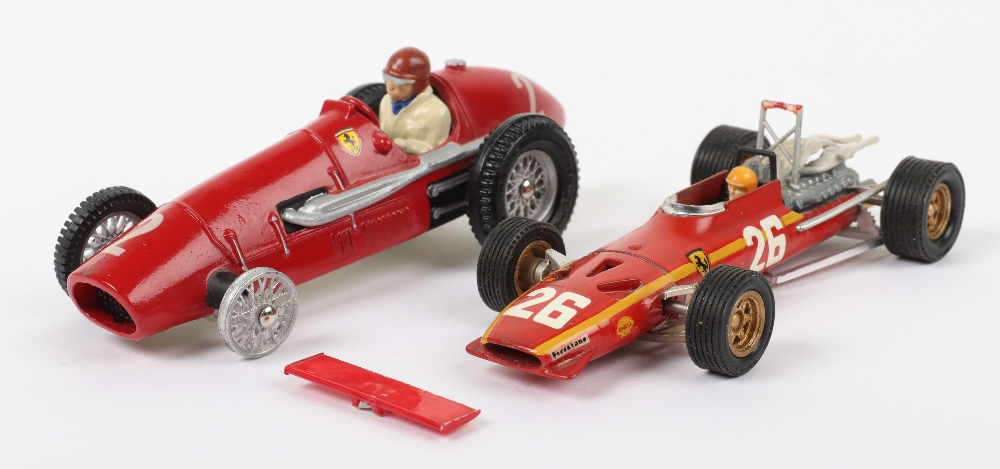 Two 1/43 Scale Ferrari Grand Prix Cars