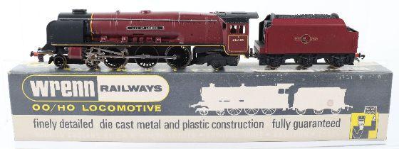 A Wrenn 00 Gauge W2226 'City of London' City Locomotive and Tender