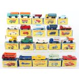 Collection of Thirty Six Matchbox Lesney Regular Wheels Boxed Models