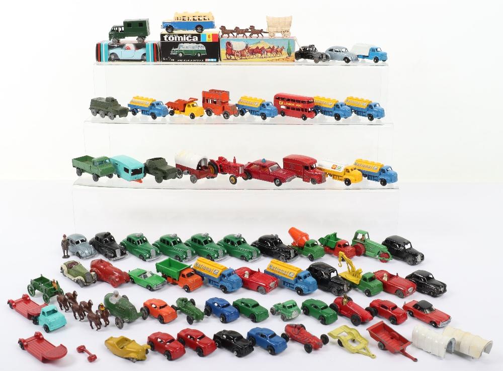A Quantity of mixed Miniature diecast vehicles