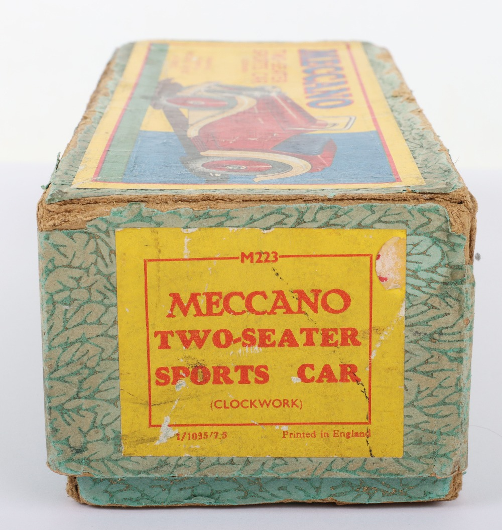 Boxed Meccano M223 Non- Constructor Two-Seater Sports Car - Image 7 of 8