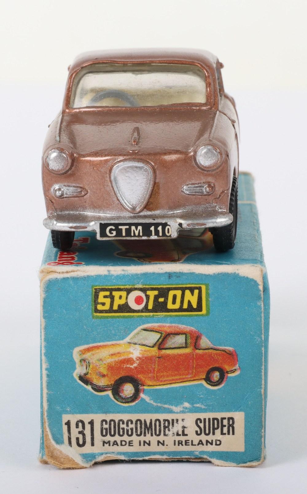 Scarce Tri-ang Spot On Model 131 Goggomobile super, Scarce metallic bronze body - Image 7 of 8
