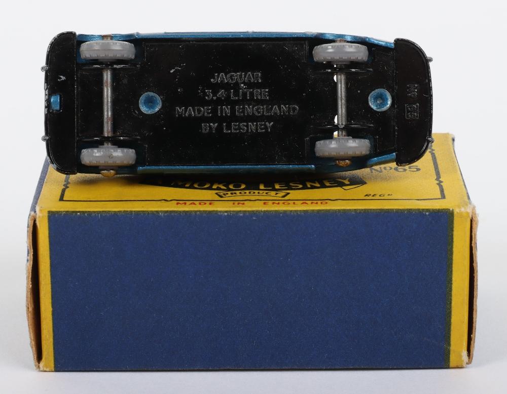 Matchbox Moko Lesney Regular Wheels 65a Jaguar 3.4 litre - Image 3 of 3