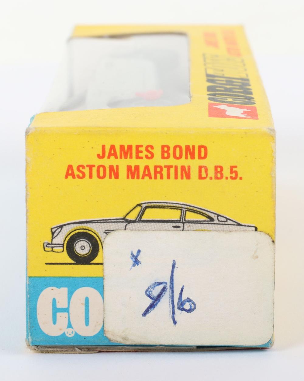 Corgi Toys 270 James Bond Aston Martin slim window box - Image 7 of 8