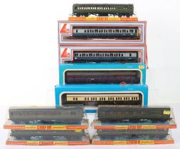 Nine Various Makers 00 Scale Boxed Coaches
