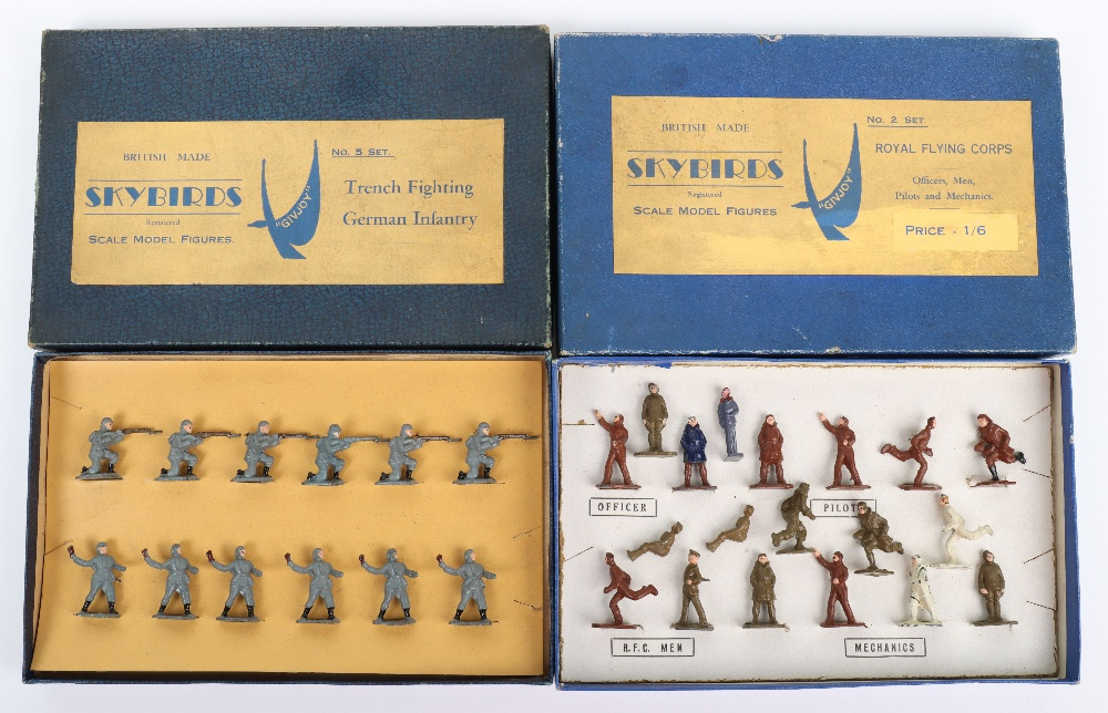 Two Skybirds Figures Sets