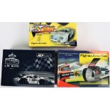 Three Boxed Fly Car Model Marcos LM 600 Slot Cars