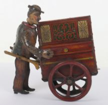 Distler Jacko the Merry Organ Grinder tinplate toy