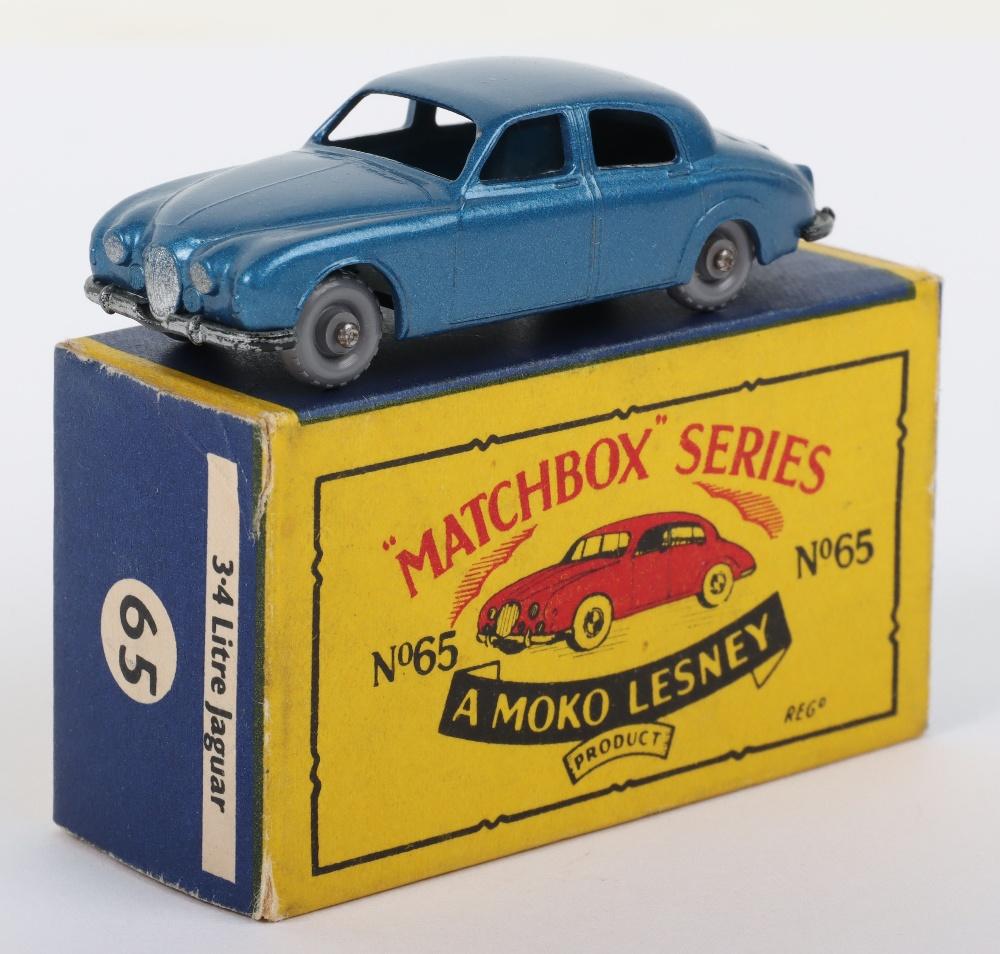 Matchbox Moko Lesney Regular Wheels 65a Jaguar 3.4 litre