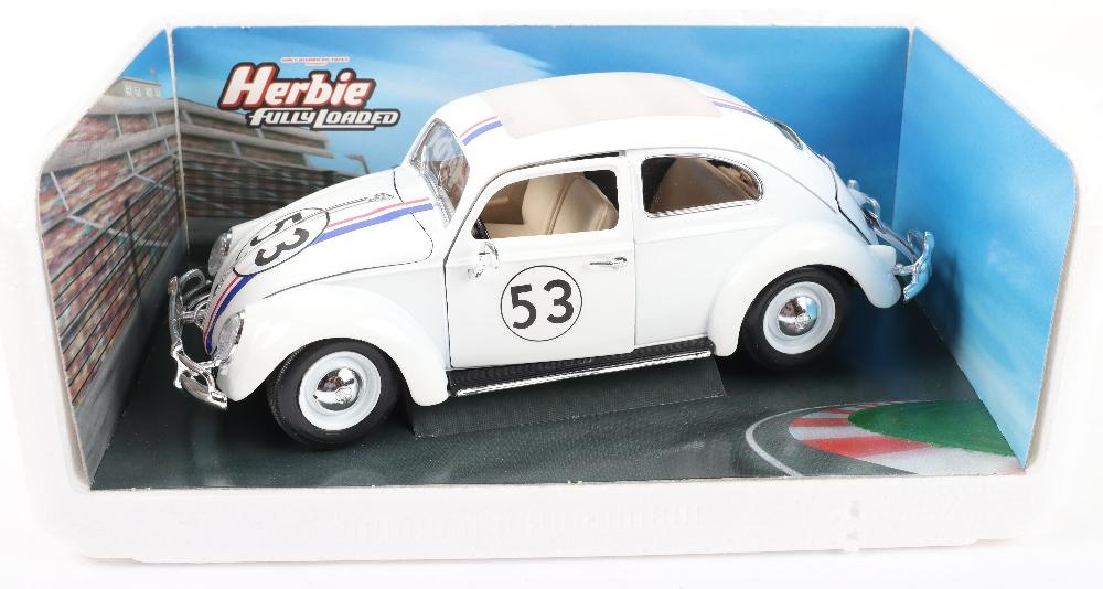 Burago Herbie Fully Loaded Volkswagen Beetle - Image 2 of 2