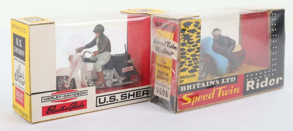 Two Britains Ltd Boxed Motorcycle Models - Image 3 of 3