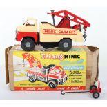 Triang Minic Push and Go No.3 Heavy Duty Bedford Crash Truck