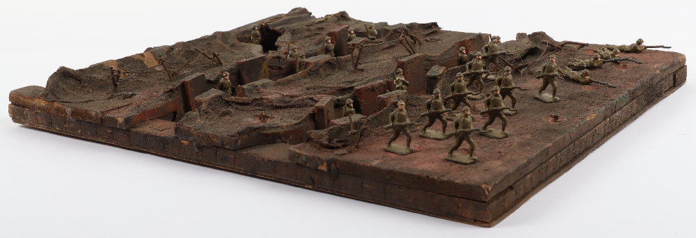 Skybirds plaster/ wooden Trench diorama - Image 3 of 4