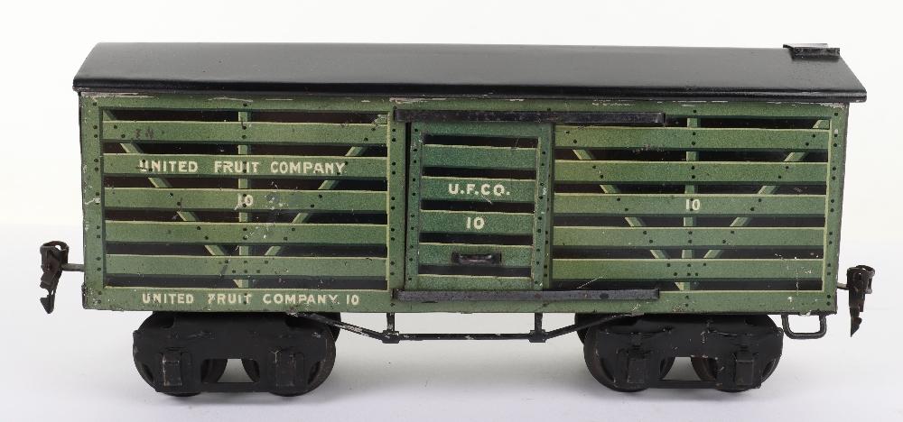 Marklin for the U.S market gauge I 'United Fruit Company' eight-wheel bogie Fruit van, German circa - Image 3 of 5