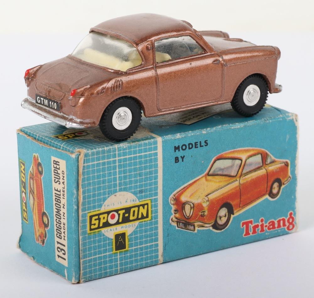 Scarce Tri-ang Spot On Model 131 Goggomobile super, Scarce metallic bronze body - Image 5 of 8