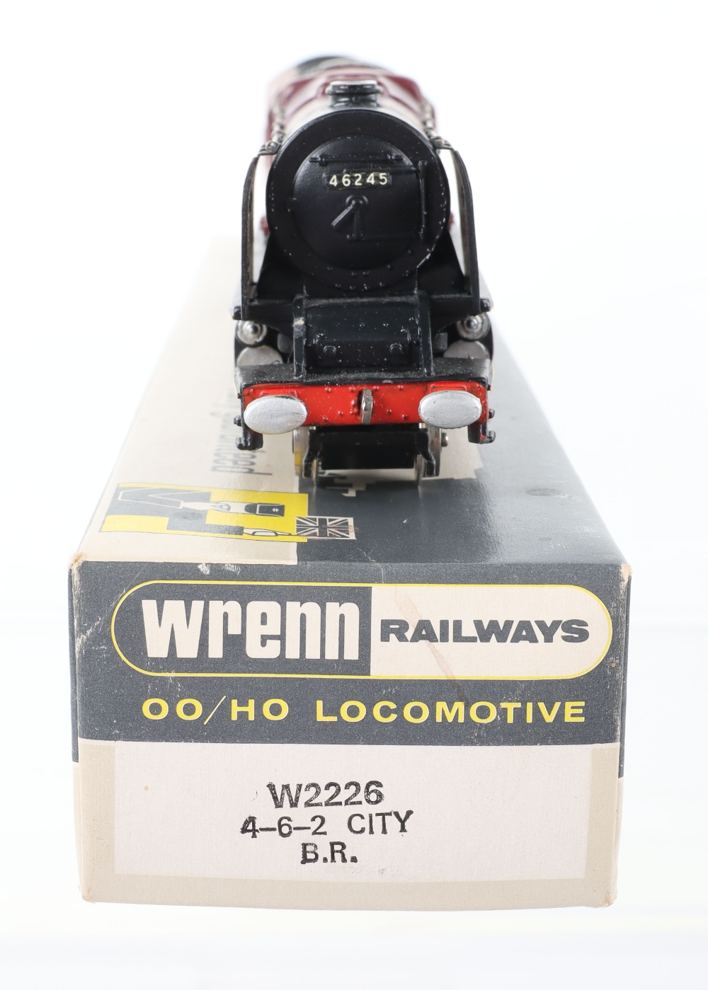 A Wrenn 00 Gauge W2226 'City of London' City Locomotive and Tender - Image 3 of 3