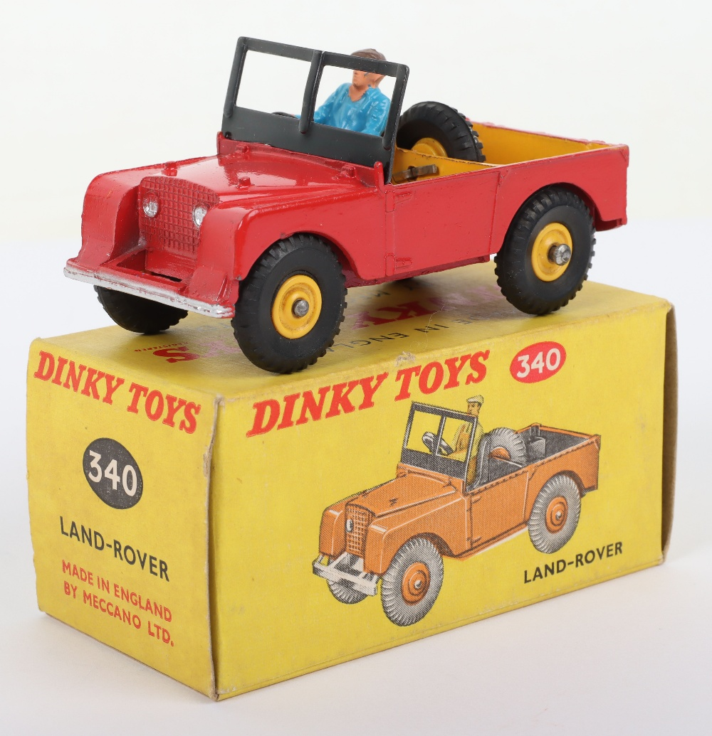 Scarce Dinky Toys 340 Land-Rover Later Issue