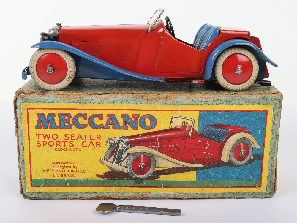 Boxed Meccano M223 Non- Constructor Two-Seater Sports Car