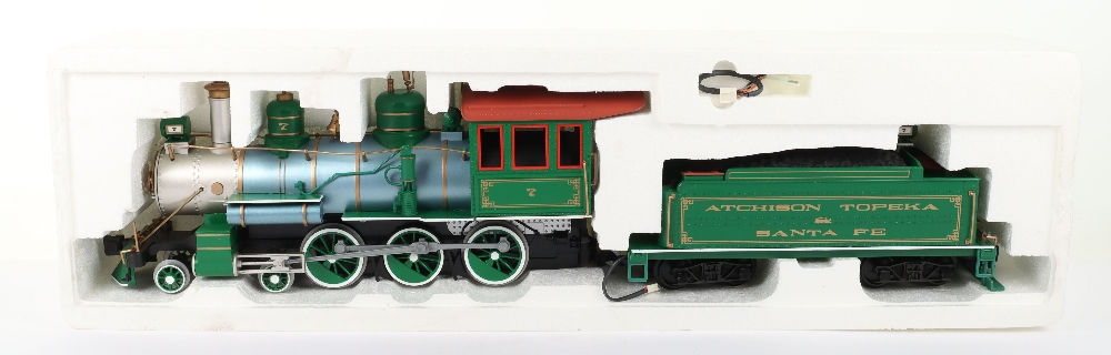 A Bachmann G Scale American Outline Locomotive and Tender - Image 2 of 4