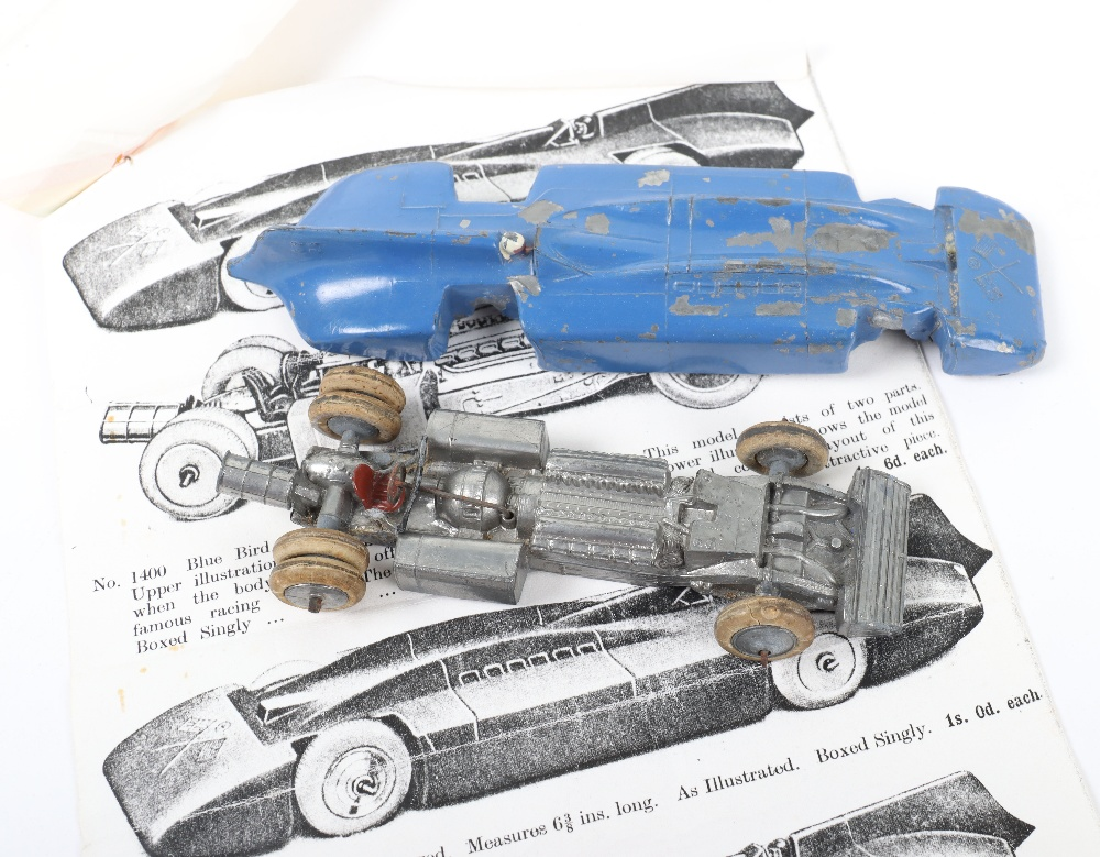 W Britains Pre War 1400 Sir Malcolm Campbells Blue Bird Land Speed Record Car - Image 4 of 4