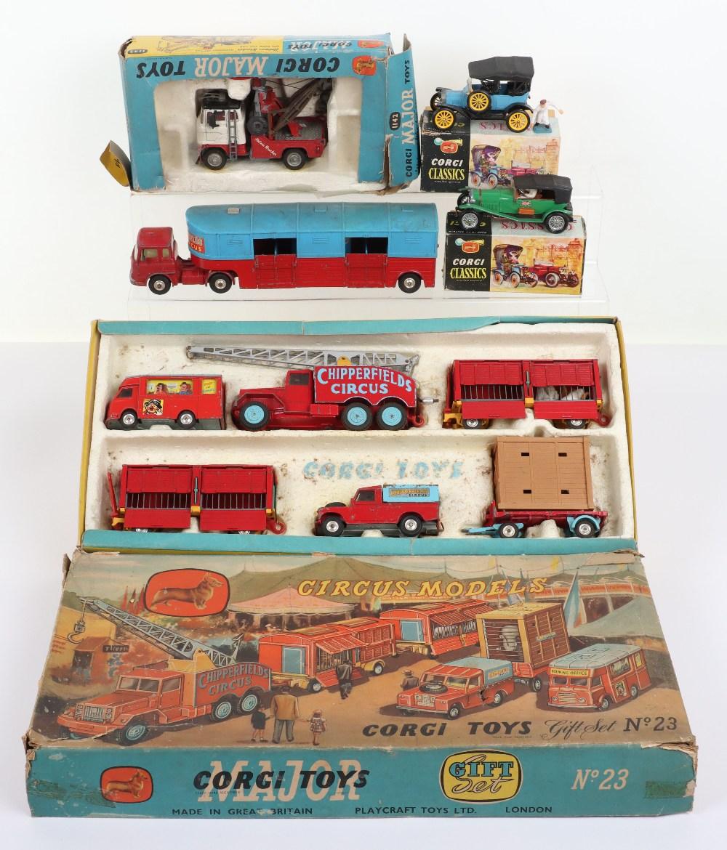 Corgi Toys Chipperfield's Circus Models Gift Set 23
