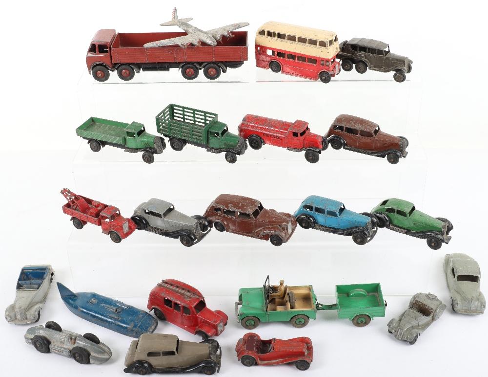 Quantity Of Playworn Dinky Toys