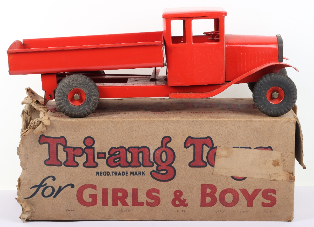 Boxed Triang Toys Bedford Tip Lorry