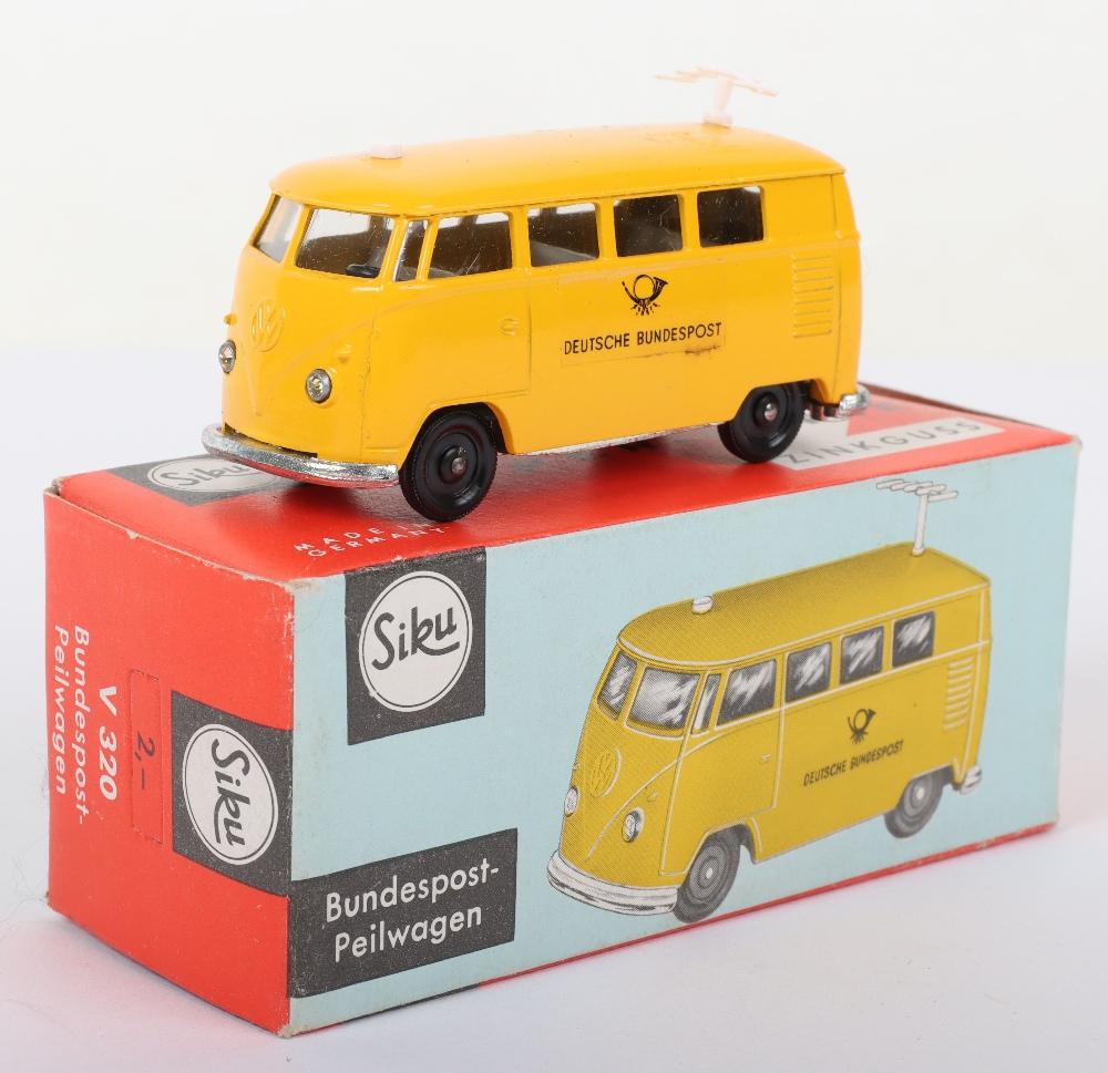 Siku (Germany) V 320 Volkswagen Bus Deutsche Bundespost Peilwagon