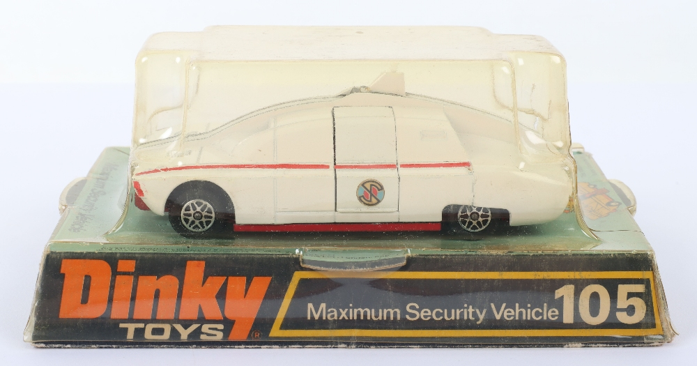 Dinky Toys 104 Maximum Security Vehicle from 'Captain Scarlet'
