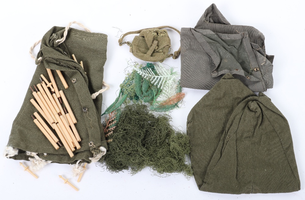 A Quantity of Vintage Original Action Man Uniforms Accessories From 1960's Combat Soldier - Image 5 of 5