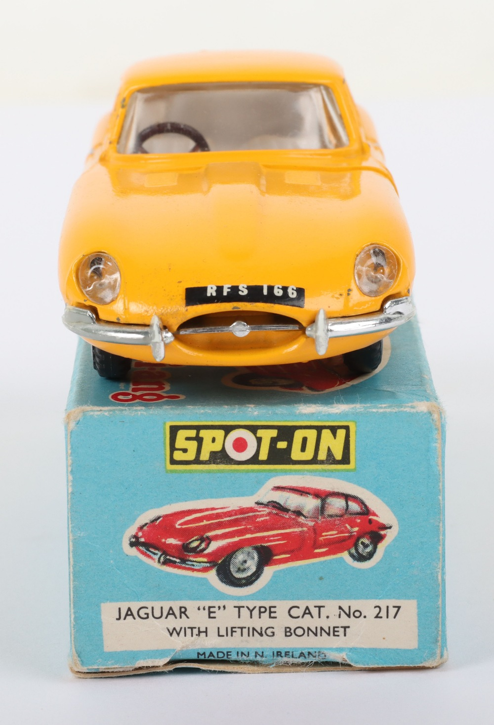 Scarce Triang Spot-On Model 217 Jaguar 'E' Type - Image 4 of 6