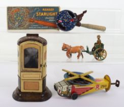 Quantity of Early Novelty Tinplate Toys