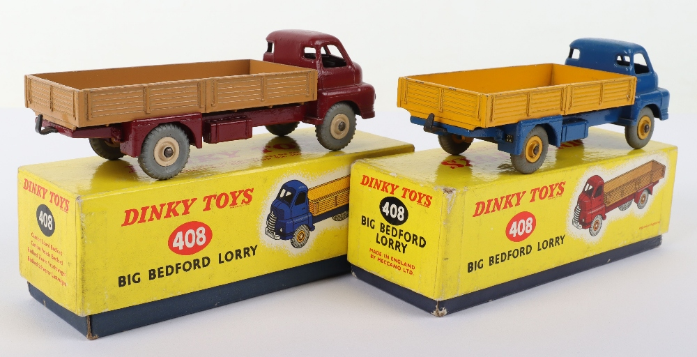 Two Boxed Dinky Toys 408/522 Big Bedford Lorries - Image 2 of 3