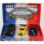 Fly Slot Car Model Le Mans Test Cars Set