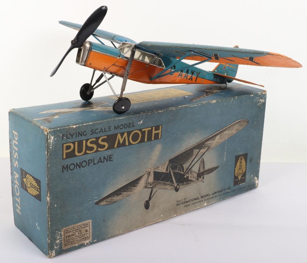 Frog Aeroplane Model De Havilland 80A Puss Moth - Image 9 of 10