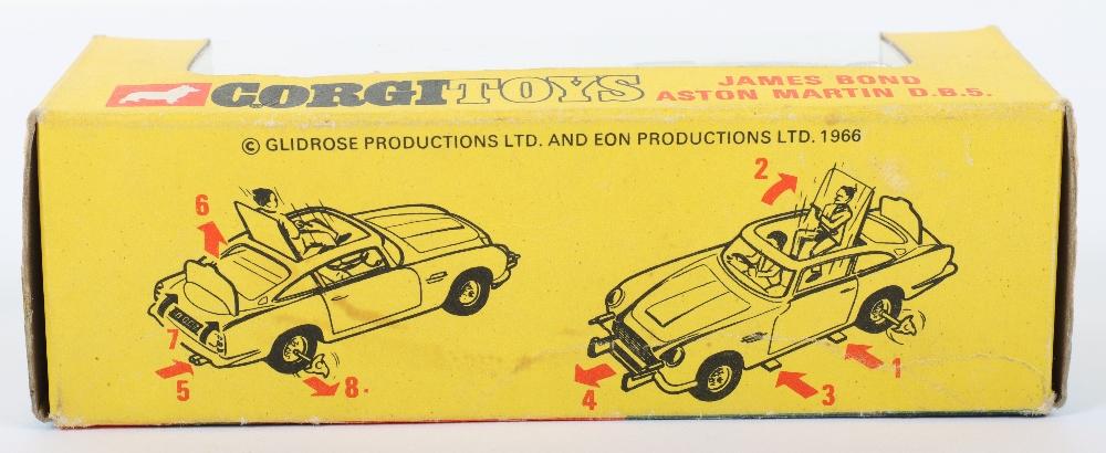 Corgi Toys 270 James Bond Aston Martin slim window box - Image 6 of 8