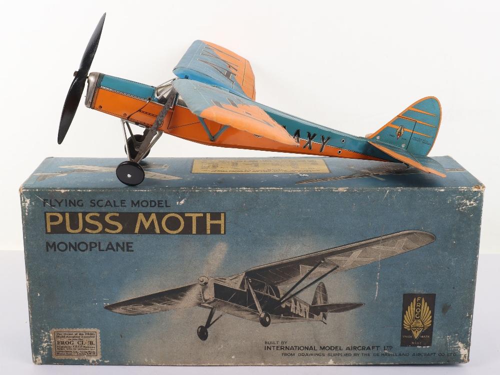 Frog Aeroplane Model De Havilland 80A Puss Moth