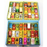 Matchbox Lesney Superfast Collectors case with Forty Eight models