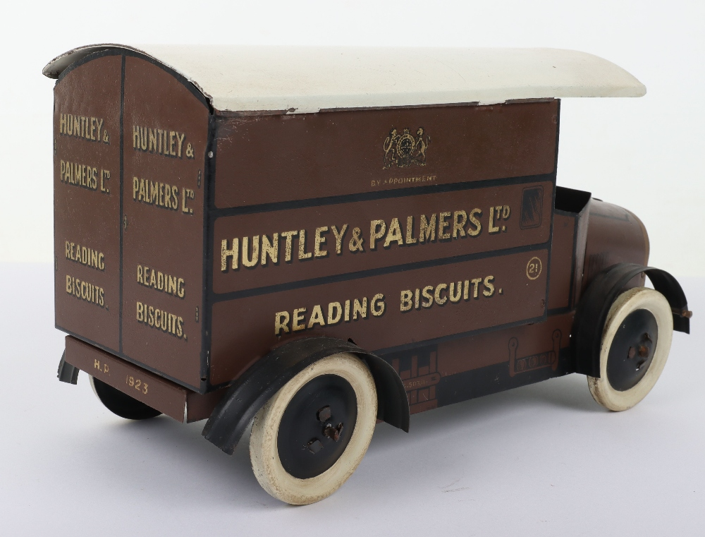 Huntley & Palmers Ltd Reading Biscuits Tinplate Delivery Van - Image 4 of 7