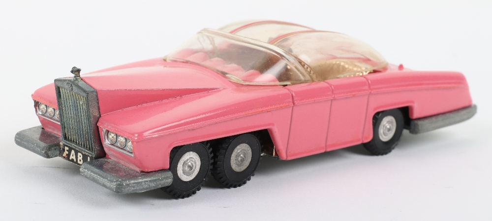 Dinky Toys Boxed 100 Lady Penelope's FAB 1 From TV series 'Thunderbirds - Image 3 of 7